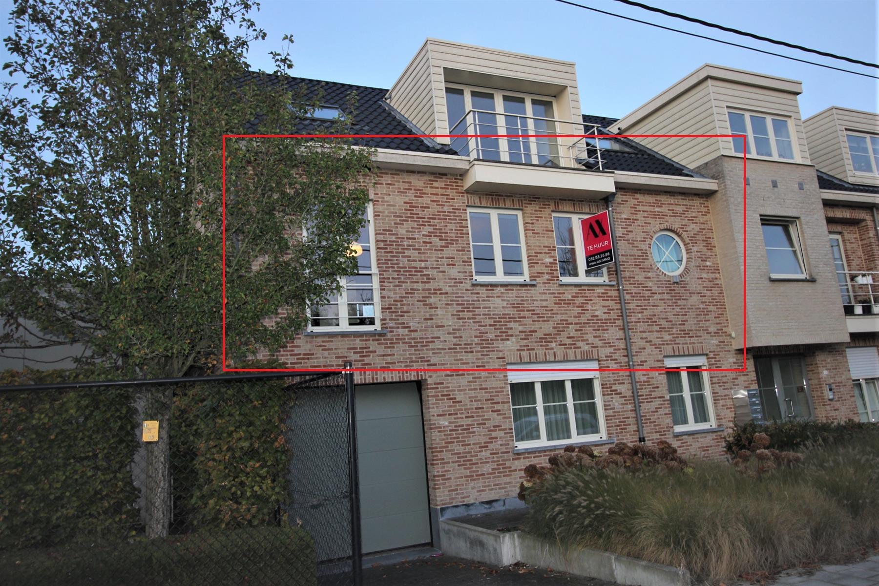 Ruim appartement met 2 slaapkamers en terras