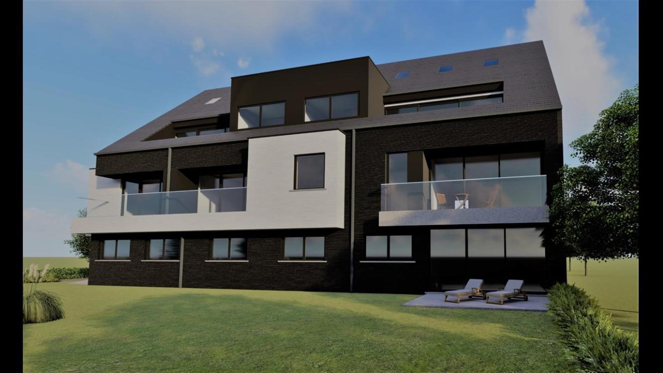 """""""Residentie Solis"""" gelijkvloers nieuwbouw appartement met twee slaapkamers, terras en tuin"""