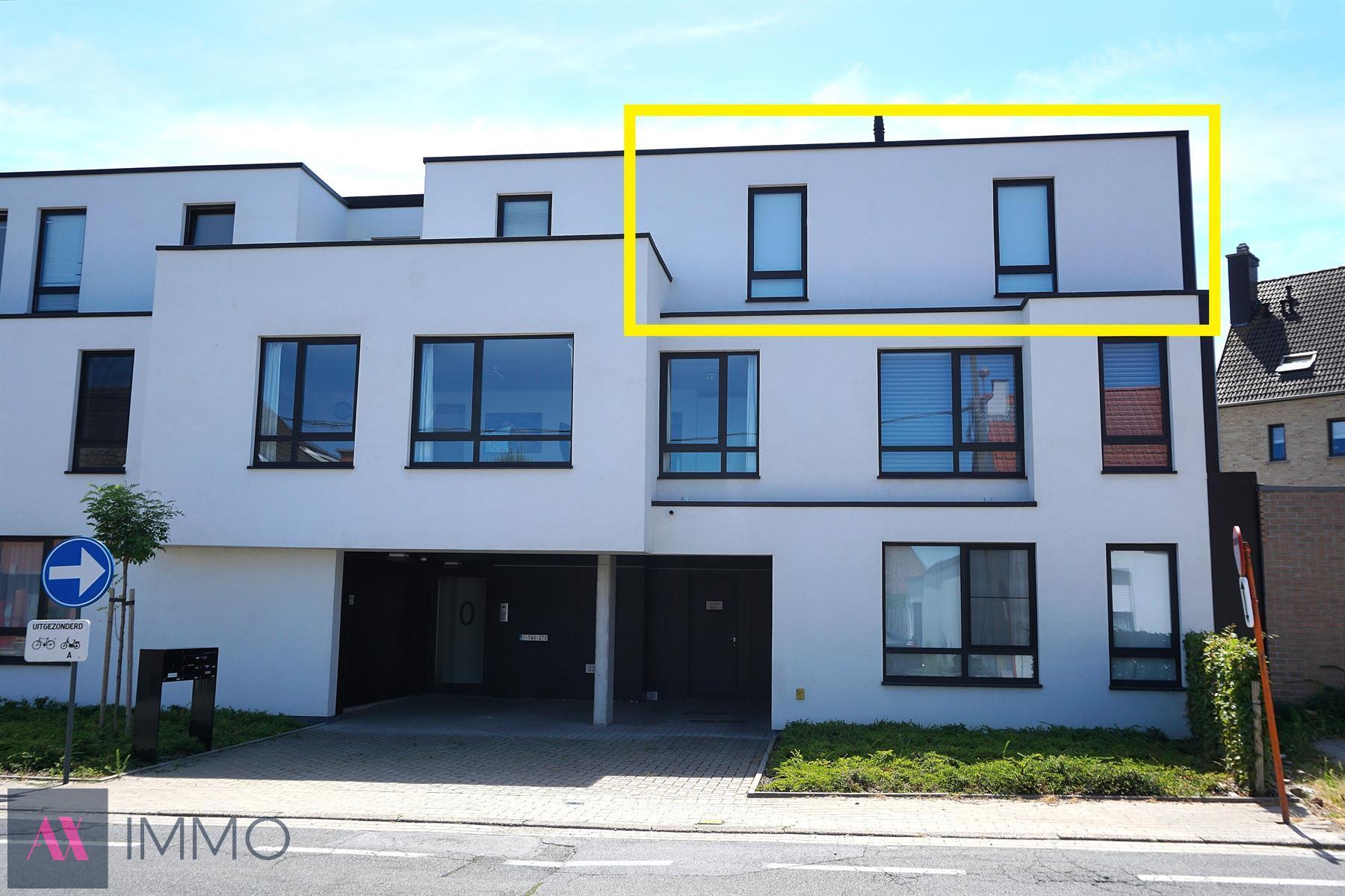 Centraal gelegen instapklaar, energiezuinig 1-slpk.-appartement met zonneterras, car-port en lift.