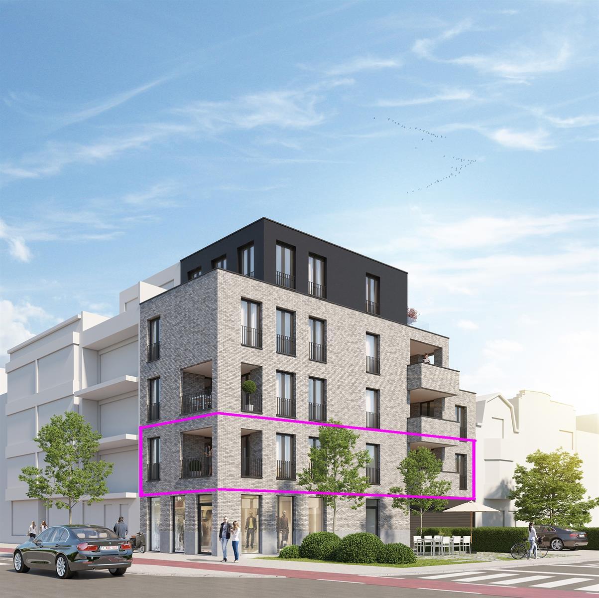 Nieuwbouw 2 slpk app 1e verd. met terras